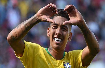 กัดฟันกรอด ๆ ! เชซุส ยินดีหลัง ฟีร์มิโน ทำผลงานได้ดีกับ บราซิล