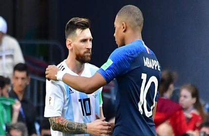 แบกมาได้เท่านี้: เปิดสถิติ โรนัลโด้-เมสซี ฟุตบอลโลก 2018